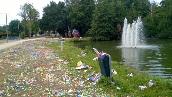 Ook Ketnetters laten afvalspoor na