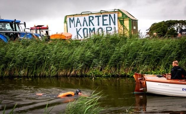 Maarten van der Weijden stopt met zwemtocht