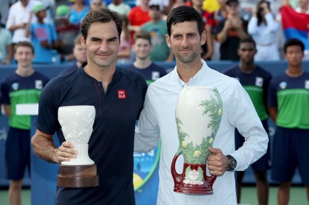 Djokovic klopt Federer in Cincinnati en zet historisch record neer