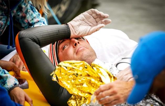 Nederlander moet na 55 uur zwemmen stoppen met 'Elfstedentocht'