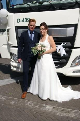 Samantha en Jeroen in Overpelt
