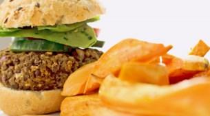 Twee keer vegetarisch eten in minder dan 30 minuten (+ kidsproof)