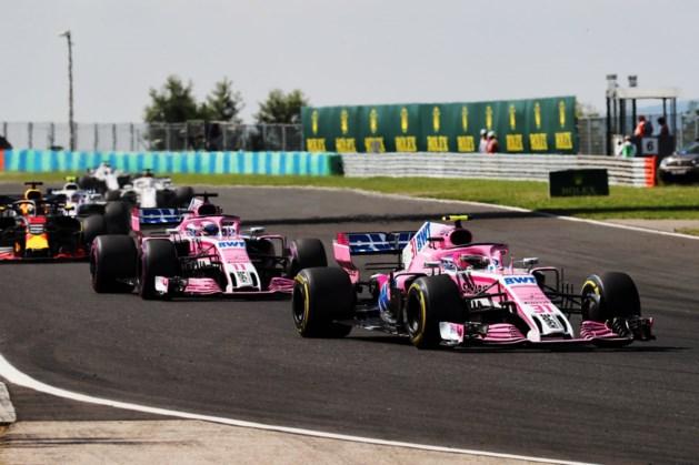 Deelname Force India F1-team aan GP van België bedreigd