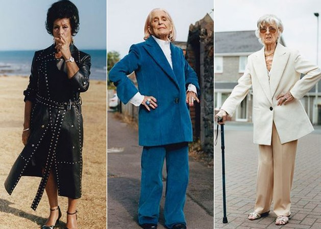 Op schoonheid staat geen leeftijd: modemerk zet zeventigplussers als modellen in