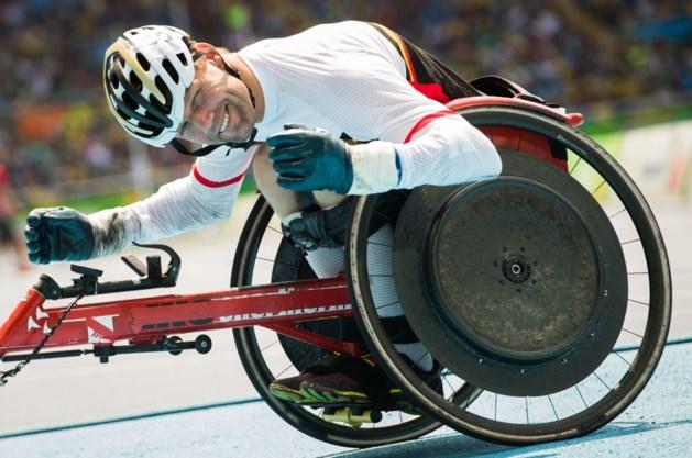 Peter Genyn verlengt Europese titel op 100m rolstoelsprint
