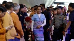 Mensenrechtencommissaris hard voor Nobelprijswinnares Suu Kyi