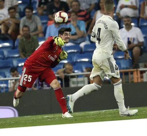 Het droomdebuut van Courtois: dit zeggen de Spaanse media over zijn eerste wedstrijd bij Real Madrid