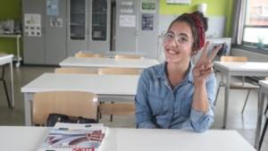 Amina uit Diest is de gelukkigste leerling van ons land