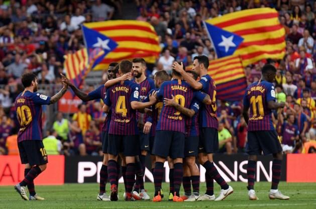 Competitiewedstrijd van Barcelona op Amerikaanse bodem weer stap dichterbij