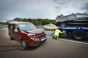 Drie ongevallen tijdens avondspits