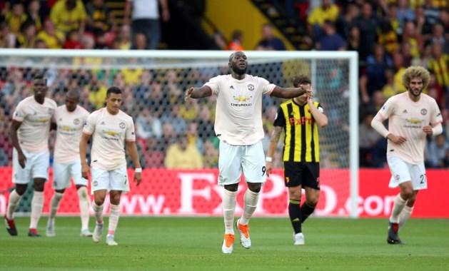 Lukaku en Fellaini hebben met doelpunt en assist groot aandeel in zege Manchester United