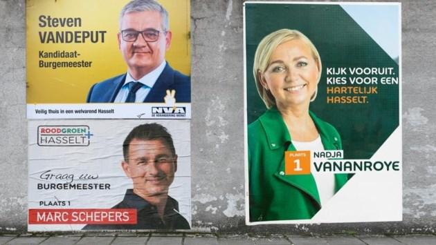 Peiling: N-VA Hasselt wordt grootste partij, Steven Vandeput op kop in strijd om de Hasseltse sjerp
