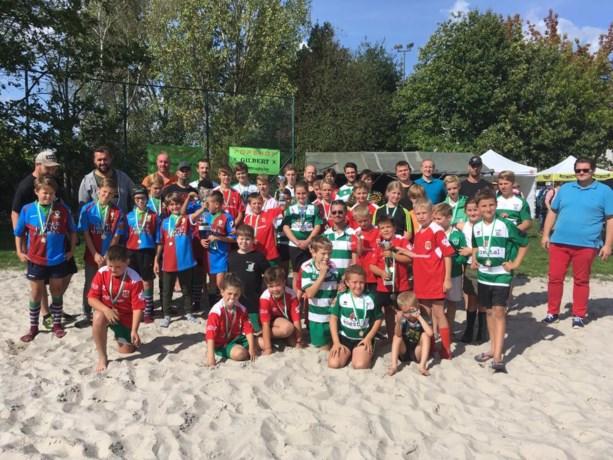 Iedereen winnaar op Hasselts beachrugby-tornooi