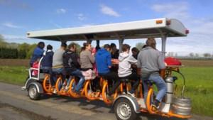 Bierfiets krijgt tegenwind: Nederlandse Spoorwegen willen verbod op pretvehikel na dodelijk ongeval