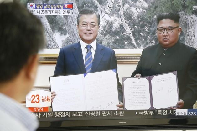 """Kim Jong-un belooft kerncentrale te sluiten en zal voor het eerst in de geschiedenis """"snel"""" Zuid-Korea bezoeken, Trump verheugd"""