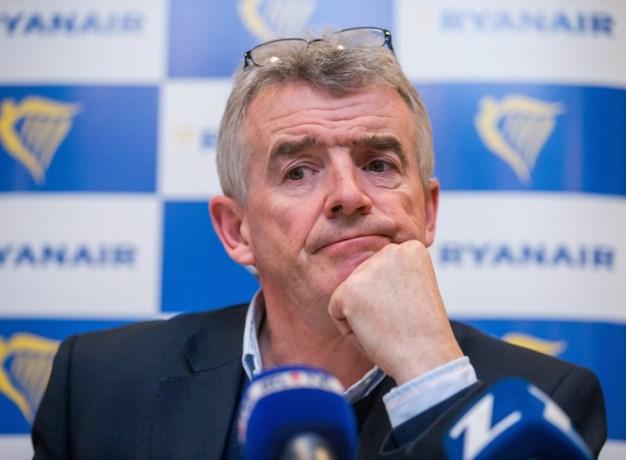 """Michael O'Leary dreigt opnieuw: """"België is een klein land voor Ryanair. Geen goed idee om te staken dus"""""""