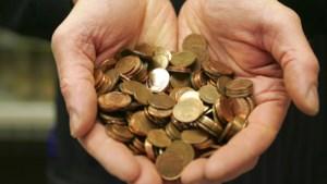 België heeft geen munten van één en twee eurocent meer