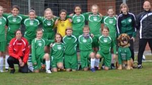 VIDEO. Meisjes van U12 lopen samen op met eerste ploeg Lommel United WS