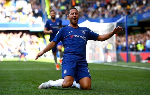 Eden Hazard bij Chelsea niet geselecteerd voor Europa League-duel