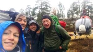 """'Vermiste' Lummense avonturiers gered in Zweedse bergen: """"Niet in de gaten dat er naar ons gezocht werd"""""""
