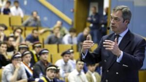 """Farage: """"Van Rompuy zou me moeten betalen"""""""