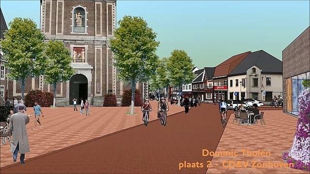 """Filmpje 'Zonhoven-dorp van de toekomst' is online hit: """"Deels eenrichtingsverkeer en meer groen"""""""