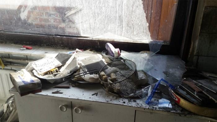 """Achterkeuken vernield door brandende frietketel: """"Ik wilde kroketten maken"""""""