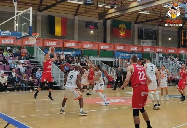 Filou Oostende wint met veel moeite in Brussel en boekt tweede zege op rij