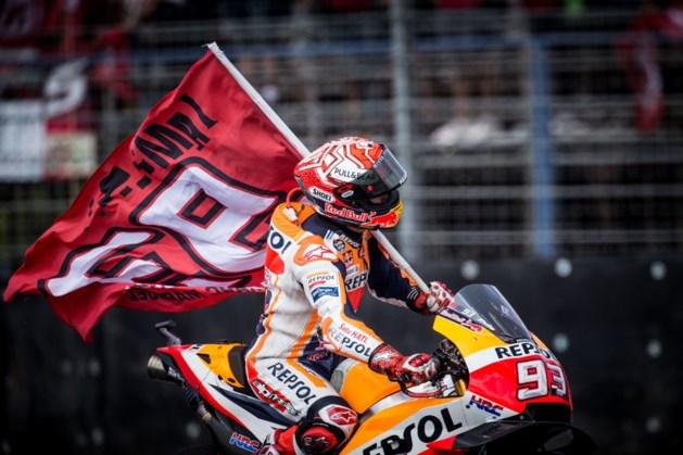 WK-leider Marquez rijdt naar zege in GP van Thailand, Siméon wordt achttiende