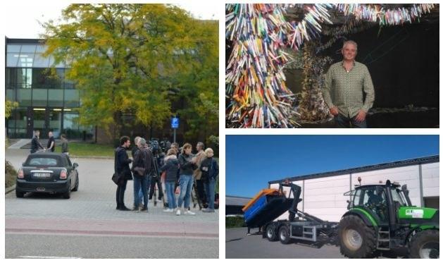 OCHTENDUPDATE. Dag 2 van het voetbalschandaal, strooien bij 23 graden en een kunstwerk uit 18.000 balpennen