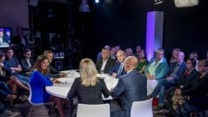 Het debat in Genk: Wim Dries verbindt eigen lot aan uitslag zondag