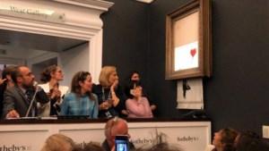 """Koopster van versnipperd Banksy-schilderij wil """"stukje kunstgeschiedenis"""" toch houden"""