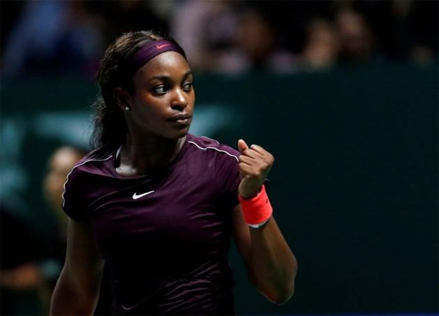 Stephens klopt Osaka in rode groep WTA Finals, Bertens verslaat Kerber