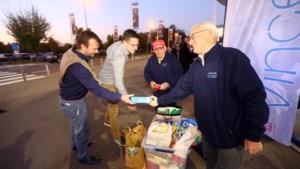 VIDEO. KRC-fans zamelen tien ton voeding in voor voedselbank