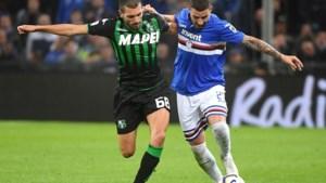 Praet kan Sampdoria niet voorbij Sassuolo loodsen