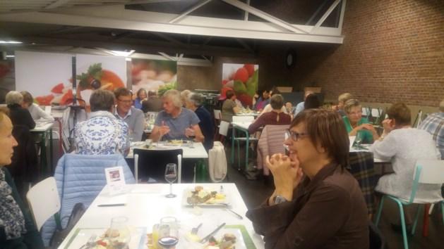 Kaas- en wijnavond Amnestygroep Hasselt een schot in de roos