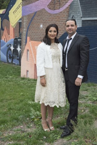 Rachida en Özkan in Genk