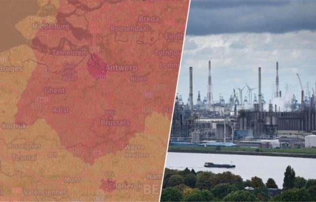 Satellietonderzoek wijst uit: Vlaanderen bij meest vervuilde gebieden ter wereld