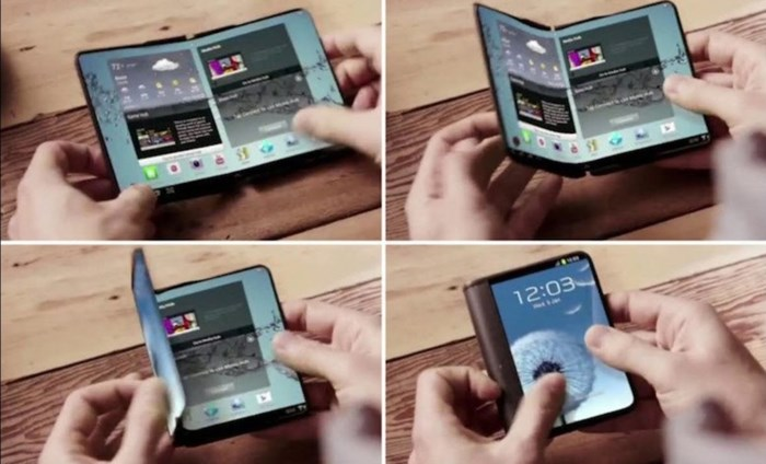 Hebben we binnenkort allemaal een opvouwbare smartphone?