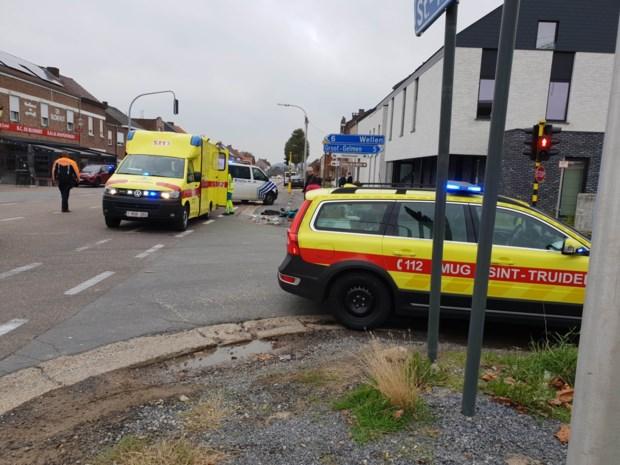 Bromfietser zwaargewond bij ongeval in Hoepertingen
