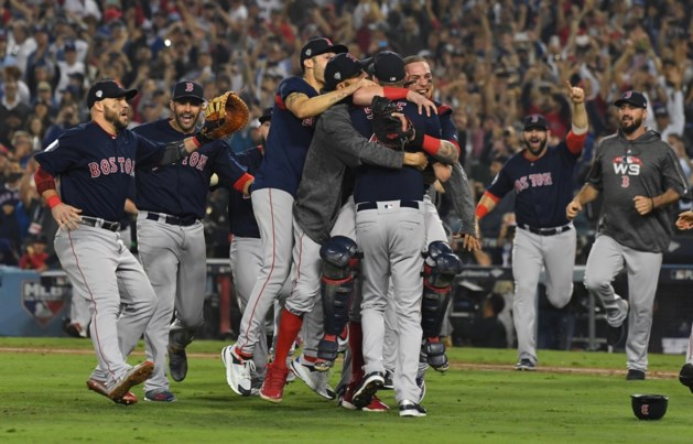 Boston Red Sox voor de negende keer de beste in de World Series Baseball