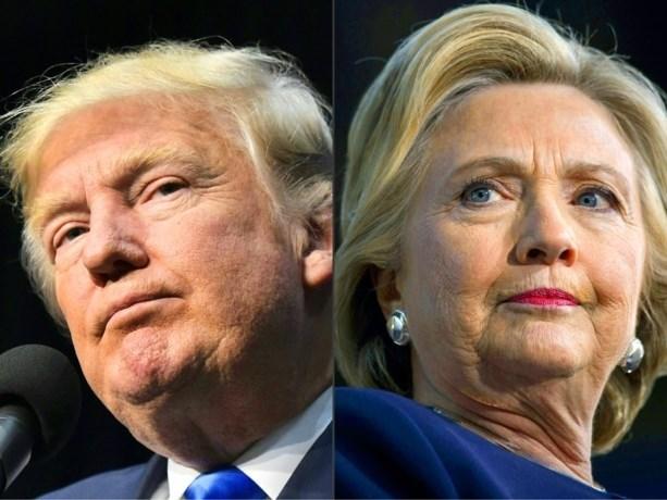 """Kan VS zich opmaken voor ronde 2 tussen Donald Trump en Hillary Clinton? """"Ik zou graag president zijn"""""""