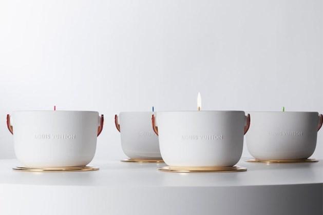 Louis Vuitton brengt geurkaarsen op de markt