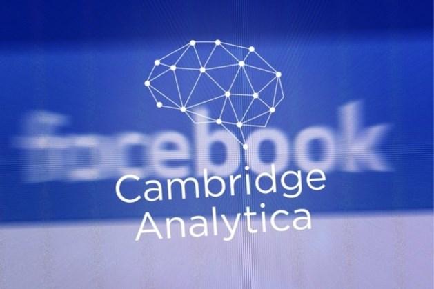 """""""Geen gegevens van Belgische Facebookgebruikers gedeeld met Cambridge Analytica"""""""
