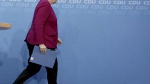 Angela Merkel kondigt exit in stappen aan