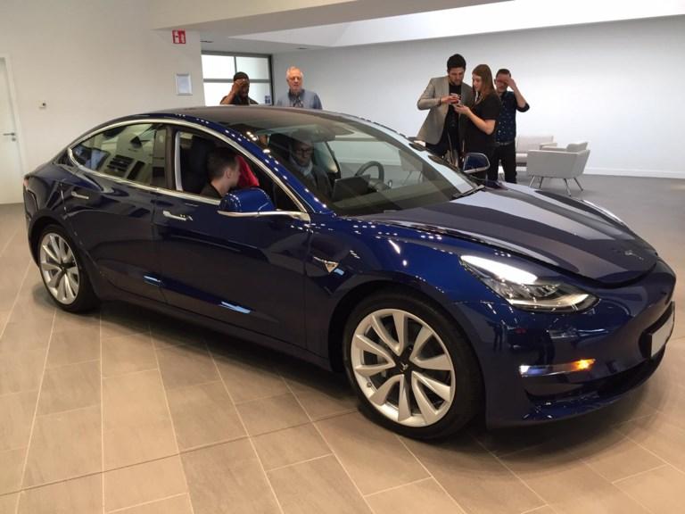 Tesla Model 3 landt (eindelijk) in België - Het Belang van ...