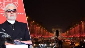 De kerstlichtjes van Karl Lagerfeld? Je kan ze nu bewonderen in Parijs