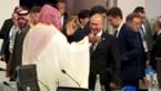 VIDEO. Saudische kroonprins en Poetin doen opvallend hartelijke <I>high five </I>bij G20