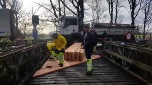 VIDEO. Grote herstellingen aan Baileybrug
