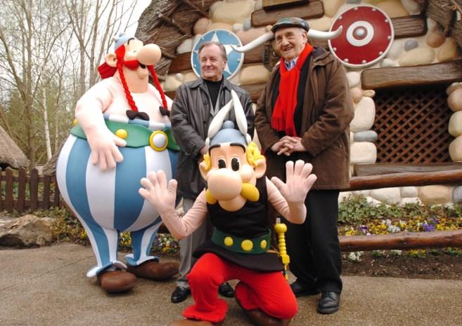 "Uderzo (91): ""Asterix stopt als ik sterf"""